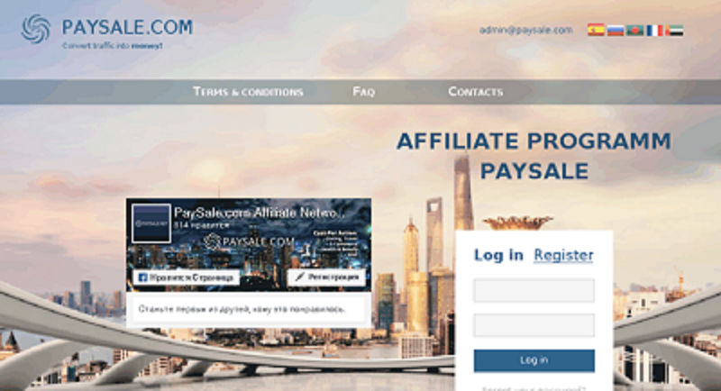 Click Here to Join now paysale affiliate company